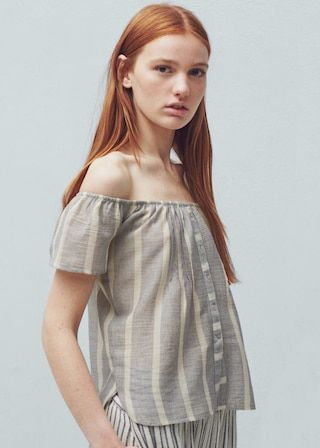 Top off shoulder - Koszule dla Kobieta | OUTLET Polska