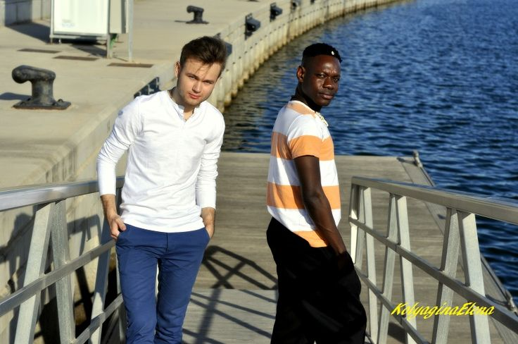 Model Artem and Papyvalerie