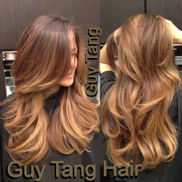 Chocolate – Caramel Ombre by Guy Tang. I'm obsessed with his ombre technique! It's flawless! ---> http://tipsalud.com
