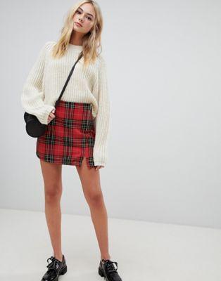 934842c297 Minifalda con estampado de cuadros escoceses. Me da igual el color. Me  gustan todos