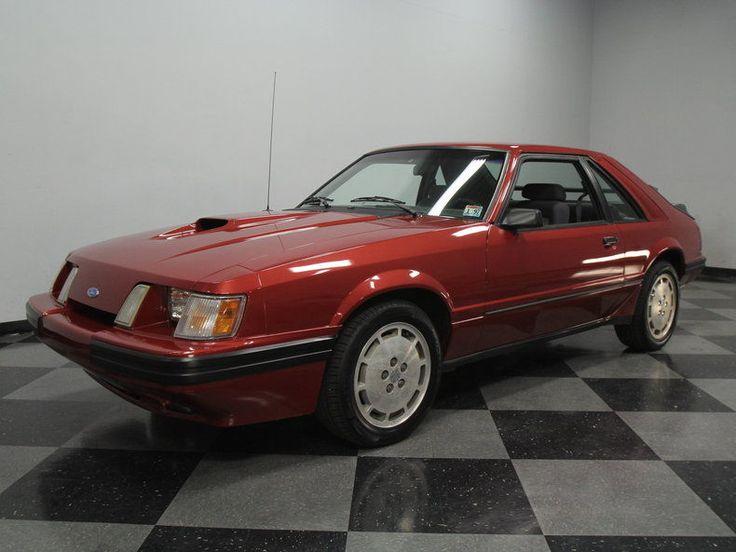 1986 Ford Mustang SVO Hatchback 2 Door