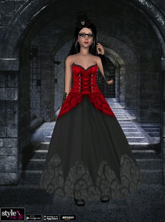 Vampire Look But She Isn 39 T A Vampire Style Me Girl Pinterest