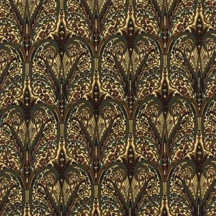 Robert Kaufman Fabrics: EG-4815-1 VINTAGE from Jardin Nouveau