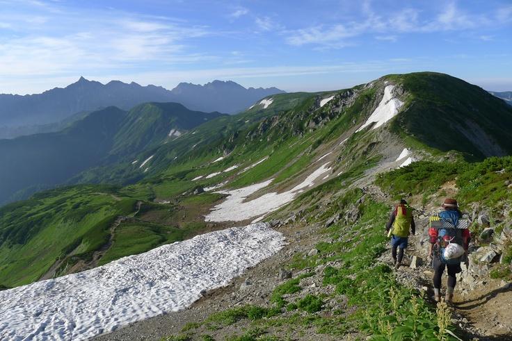 2012 summer  japan alps