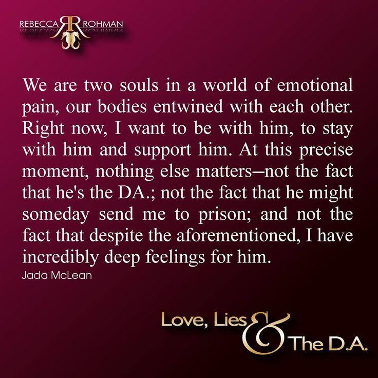 *TEASER* Love, Lies & The D.A. by Rebecca Rohman <3