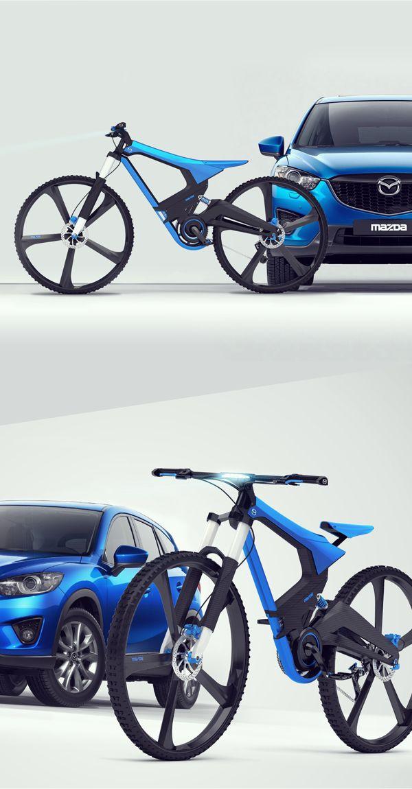 X-Bike la bicicleta de Mazda - Bike T3CH