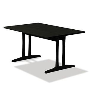 CASANOVA Møbler — Fredericia - C18 spisebord - sortlakeret