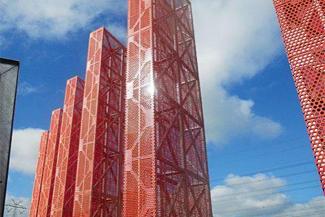 Perforated metal and mesh from Sefar