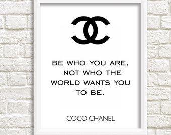 Chanel print paris bedroom decor Chanel party favors chanel printable                                                                                                                                                     Más