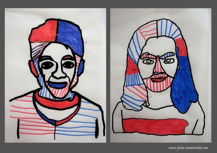 Expression artistique à la maternelle