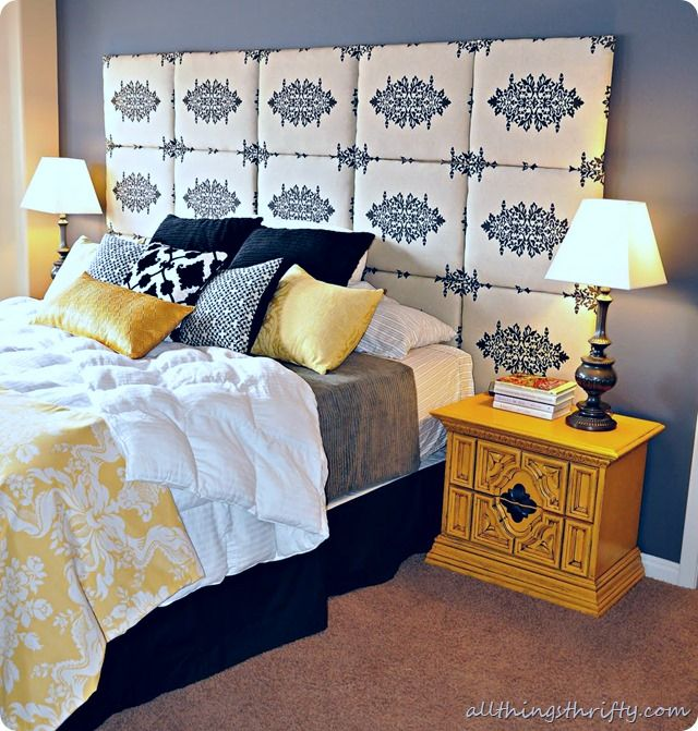 56 best images about stenciled headboard ideas on pinterest see best ideas about headboard Headboard ideas for master bedroom