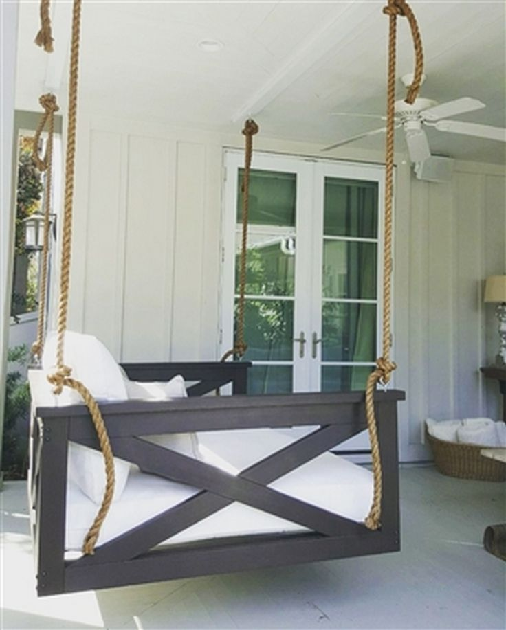 25 best ideas about porch swings on pinterest porch for Swing bed plans
