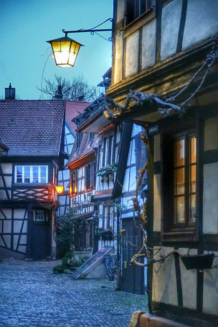 Evening in Gengenbach, Germany