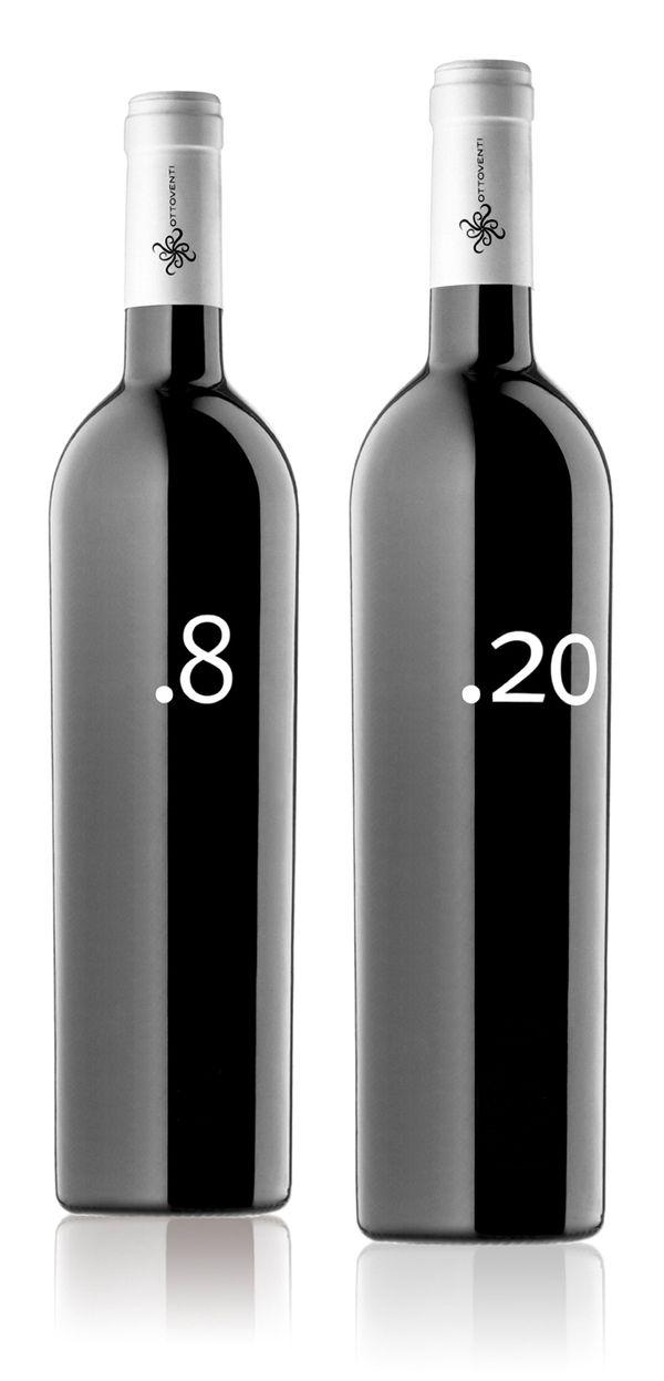 Bottle, black, gloss