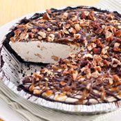 Caramel Turtle Ice Cream Pie, Recipe from Cooking.com