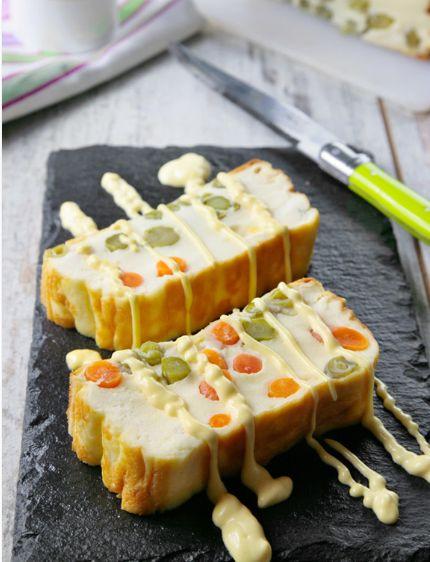 Un rico #pastel de #queso y #verduras perfecto para compartir.