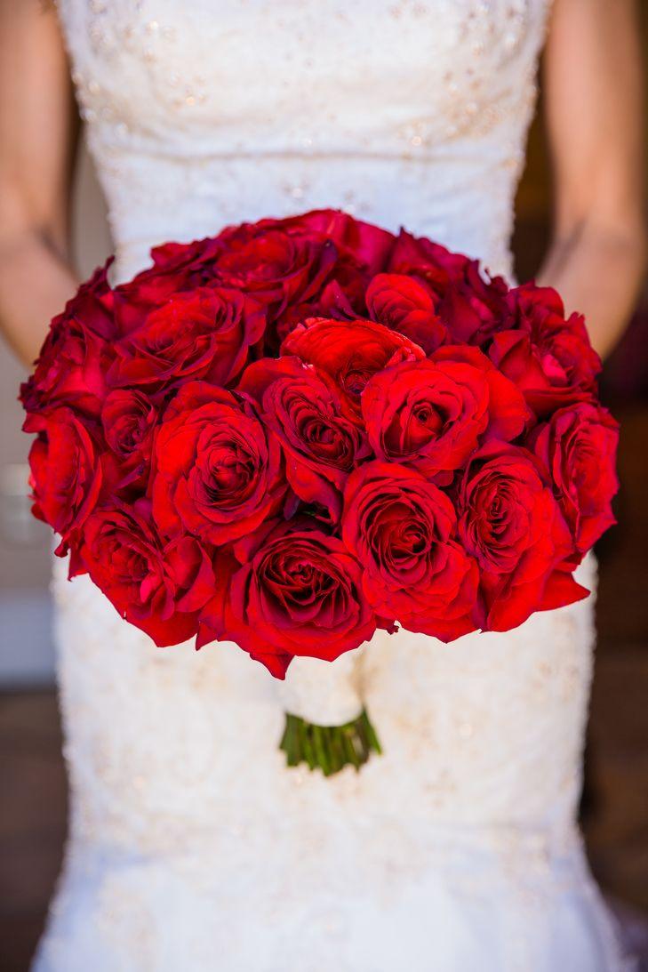 Red Rose Bouquet | Amy Theilig Photographic | Aquafuzion Event Planning | Adolfo Sanchez