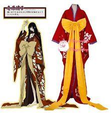 Custom! Hot Japan Anime XXXHolic Yuuko Ichihara Kimono Cosplay Costume Set New