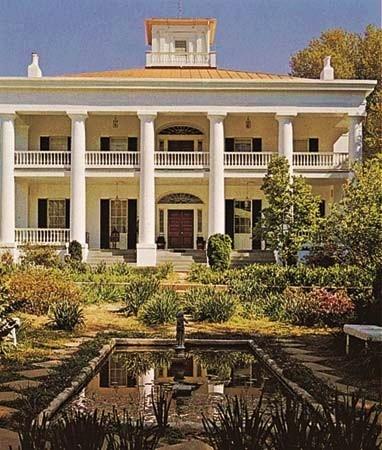 D'Evereux Mansion, Natchez 1840
