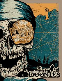 Down Here Is Our Time - The Goonies inspired print from Studiohouse Designs