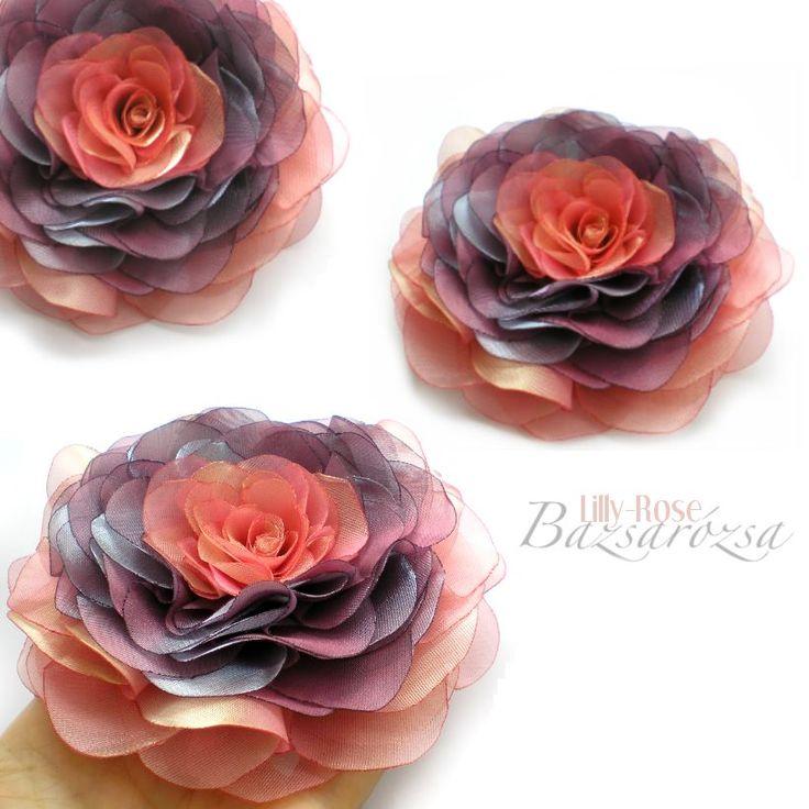 rózsaszín, orgona, Bazsarózsa, rózsa, kitűző