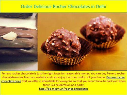 Order Delicious Rocher Chocolates in Delhi