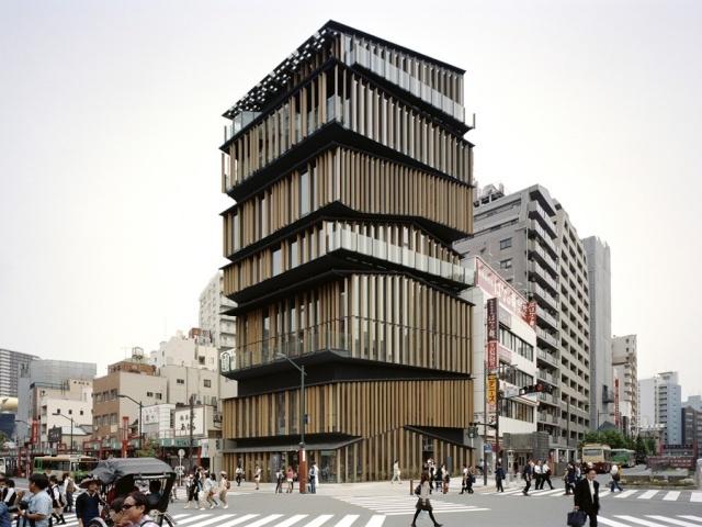 Asakusa Culture Tourist Information Centre by Kengo Kuma & Associates - News - Frameweb