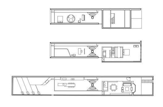 Tusculum Residence,floor plans