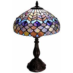 Tiffany-style Peacock Table Lamp | Overstock.com Shopping - Great Deals on Warehouse of Tiffany Tiffany Style Lighting