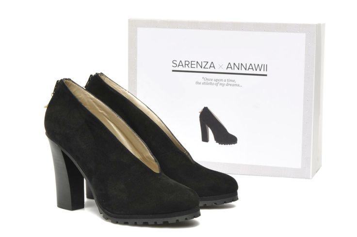 ANNAWII Sarenza (Noir) : livraison gratuite de vos Escarpins ANNAWII Sarenza chez Sarenza