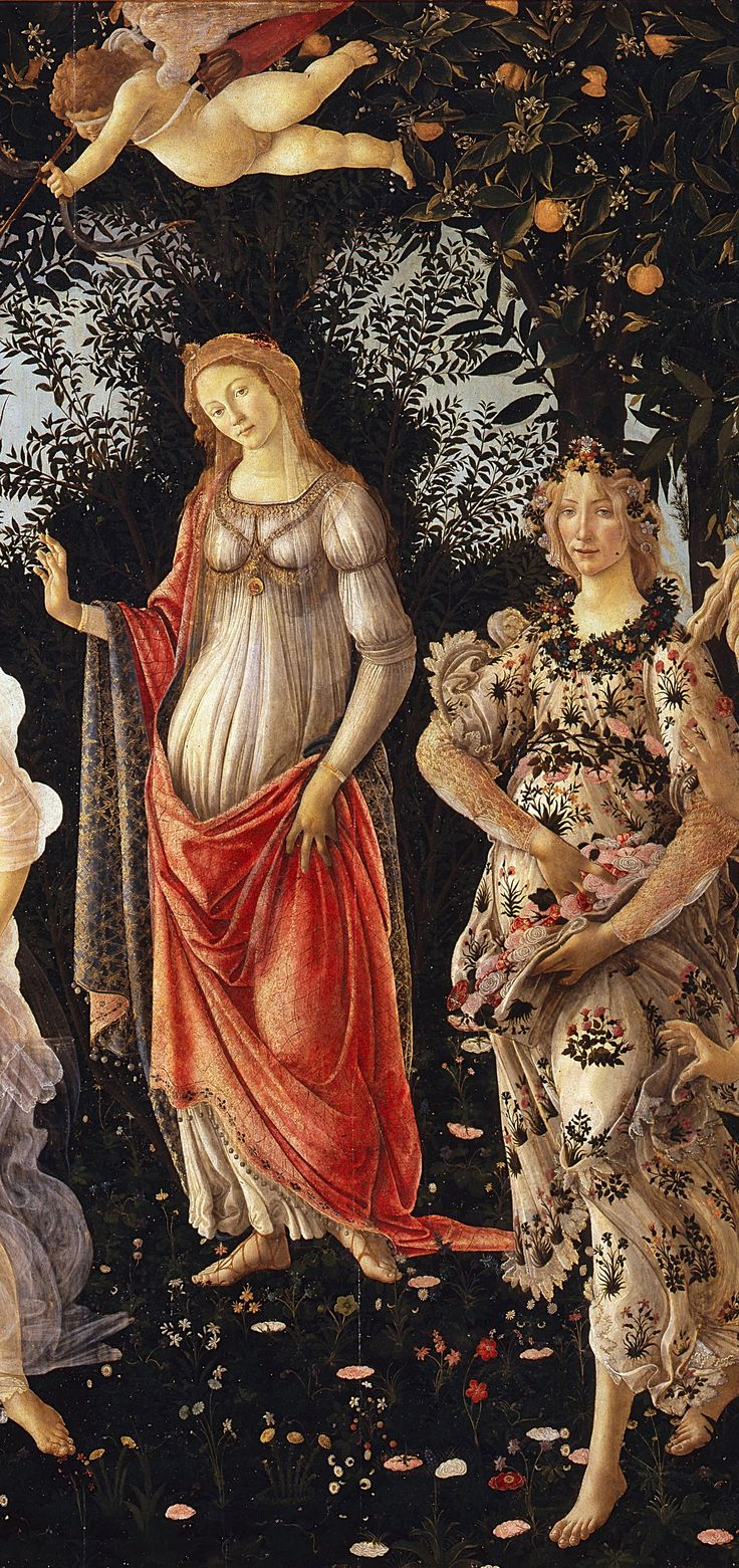 "Botticelli was an Italian painter. He went to the Florentine school during the Early Renaissance (Quattrocento). Less than a hundred years later, Giorgio Vasari saw this movement as a ""golden age"". The patron of the movement was Lorenzo de' Medici."
