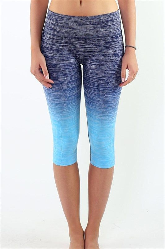 Sometimes the style of your workout gear is the jumpstart you need to get going. Available in two ombre colors, the Everlasting Ombra Capri Leggings from JacksonsRunaway will not only have you ready for your next workout, yoga or barre class but a perfect compliment to your casual attire. Whether its a quick coffee run, a day of errands or grabbing brunch with friends, the Everlasting Ombra Capri Leggings from JacksonsRunaway will ensure you remain comfortable regardless of the situation!