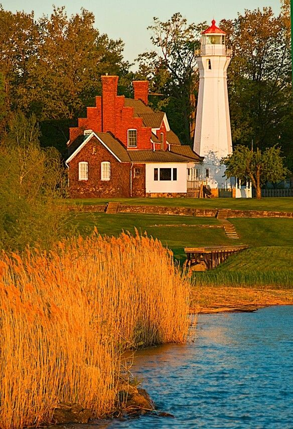 Remarkable Port Sanilac Light Lake Huron Mi Lighthouses Lighthouse Download Free Architecture Designs Rallybritishbridgeorg