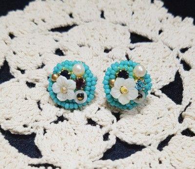 hamdmade beads earring 오늘이 경칩이라는데 날씨도 좋은데 불면증에 좋은 날씨를 칭밖으로만 음미하며 낮에 자느라 스트레스는 더...