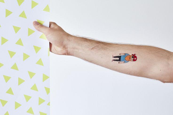 Dočasné tetování - Leto pre všetkých