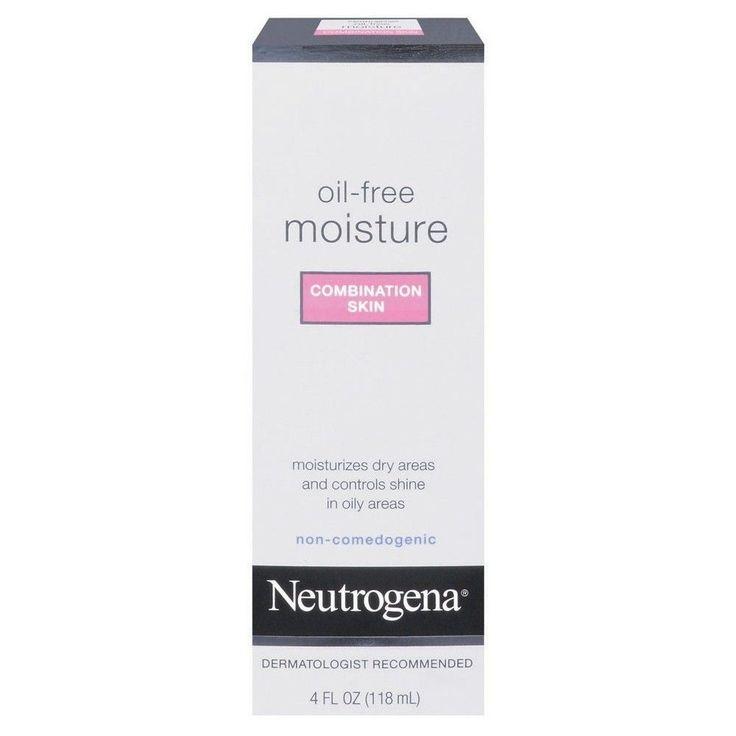 Neutrogena Oil-Free Moisture Combination Skin- 4 Fl. Oz