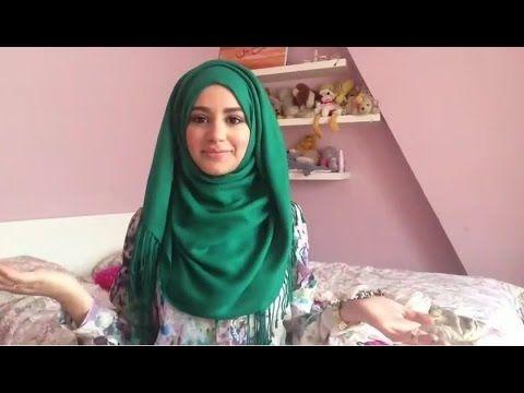 Tutorial Hijab Untuk Acara Santai & Casual Terbaru 2015 - YouTube