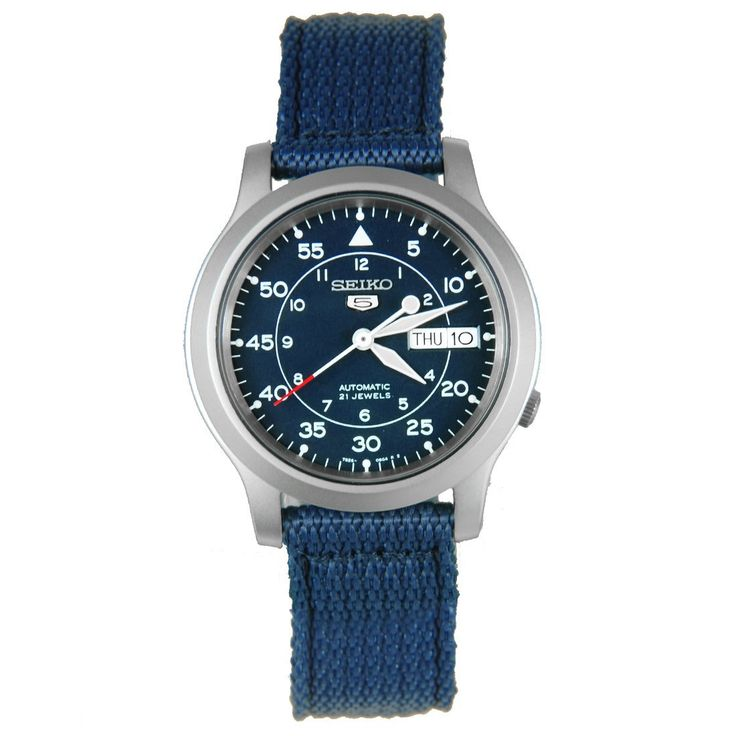 A-Watches.com - Seiko 5 military automatic SNK807K2, S$74.09 (http://www.a-watches.com/snk807k2/)