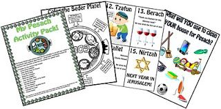 A Jewish Homeschool Blog: My Pesach Activity Pack