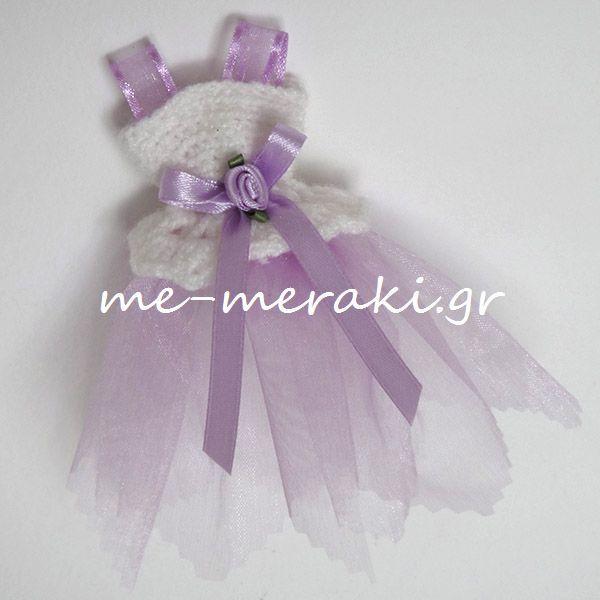 Μπομπονιέρα βάπτισης, χειροποίητο πλεκτό φουστανάκι με οργαντίνα (12 εκ.). Handmade mpomponiera for christening. Μπομπονιέρα βάπτισης φορεματάκι πλεκτό και οργαντίνα . Με Μεράκι Μπομπονιέρες .gr Me Meraki Mpomponieres μπομπονιέρα βάπτισης ΥΦ081-Γ www.me-meraki.gr