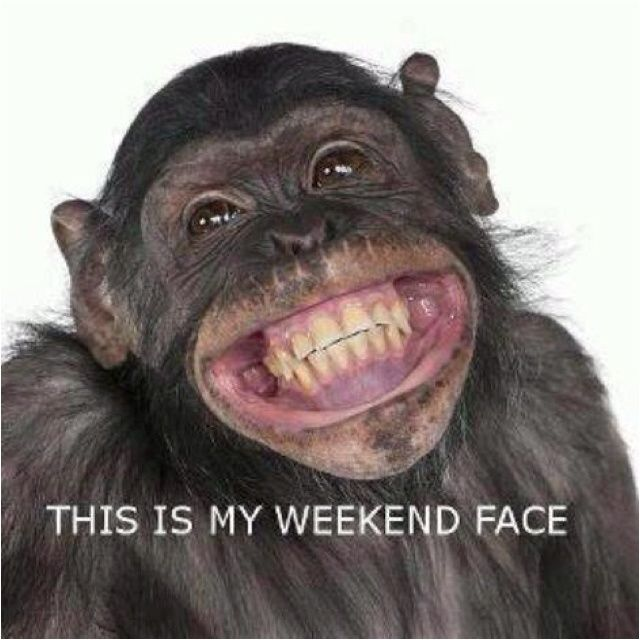 weekend! Friday at dismissal time!