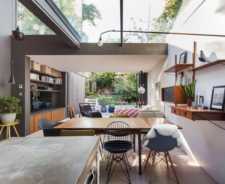 Architect Henri Bredenkamp has overhauled a London house once used as a teaching space by Goldsmiths university to create a light-filled home for his family.