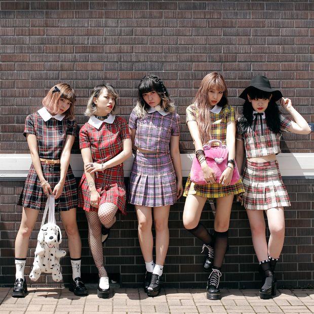 Report cute playful japanese teens #5