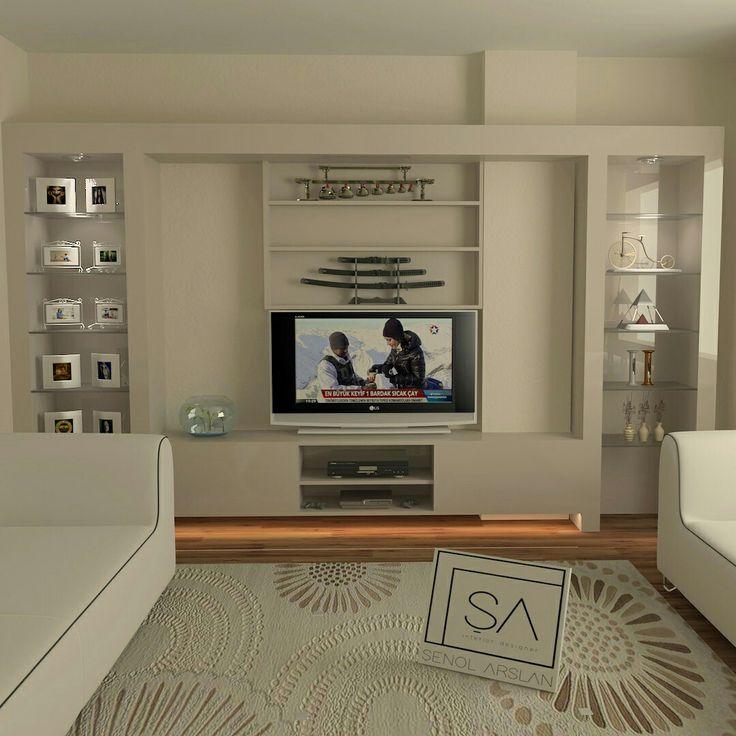 Tv unite #3dsmaxdesign #salontakimi #cizim #tvünütesi #lake #mobilyaci