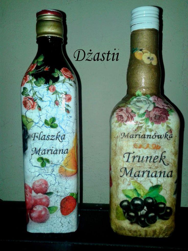 sweetness&brilliance: Butelki na nalewkę - urodziny cz. 3/3