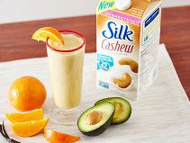 Did you know Silk® has a ton of Smoothie Solutions, like this Orange Blossom?