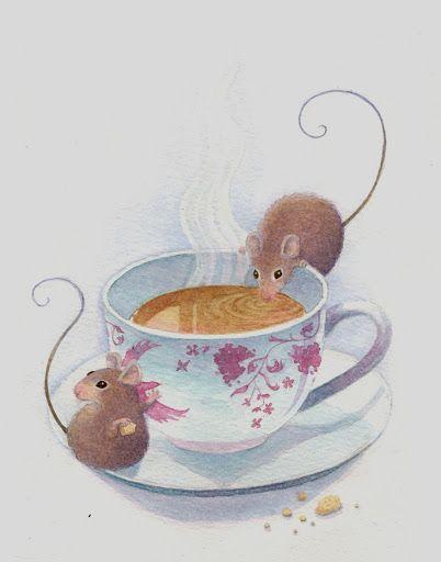 Kathy Hare Illustration - Little Tea Leafs
