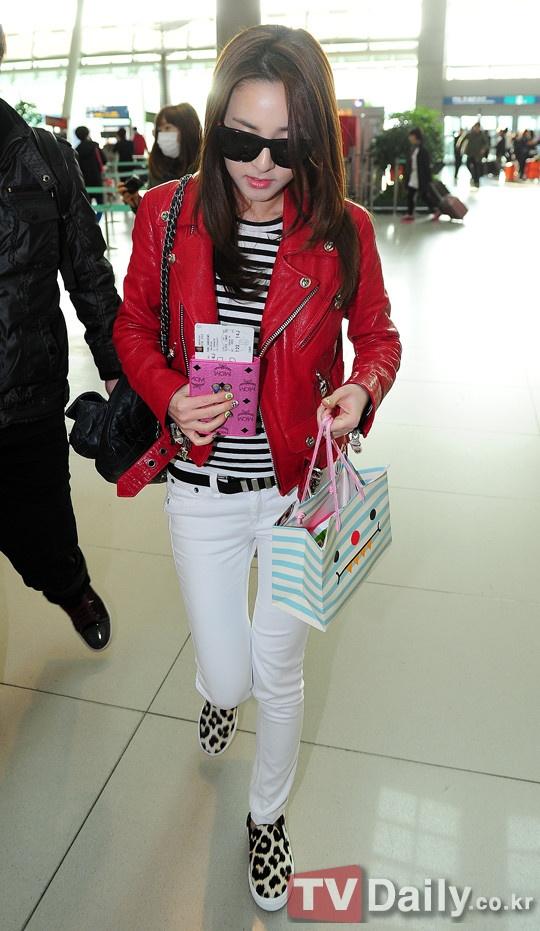 #CoordiNuna -  2NE1's Dara: Celine,Chrome Hearts x Rolling Stones,Chanel,MCM