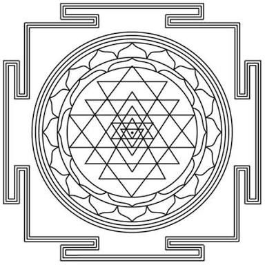 Resultado de imagen para sri yantra tattoo