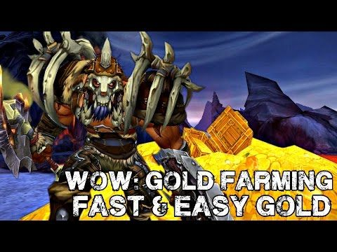 WoW: Gold Farming - How To Make 3000 -7000 Gold EASY (Warlords of Draenor) - YouTube